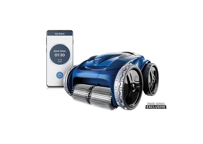 Polaris 9650iQ Robotic Pool Cleaner with iAquaLink