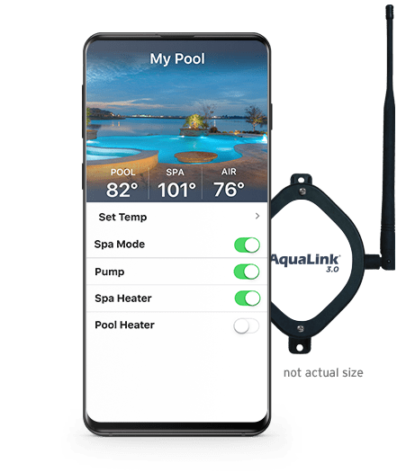 iAquaLink Pool Automation | Swimming Pool Automation