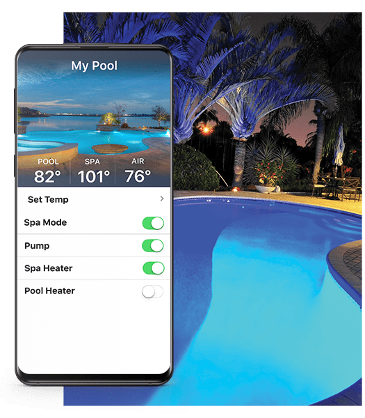 Iaqualink Pool Automation Swimming Mobile Apps Aqualink Wiring Diagram Landscape Lighting Much More